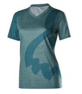 Tricouri Tricou FOX MTB-JERSEY WOMENS INDICATOR SS JERSEY HEATHER LIGHT BLUE Fox Xtrems.ro