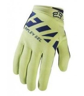 Manusi FOX MTB-GLOVE WOMENS RIPLEY GEL GLOVE NAVY/YELLOW