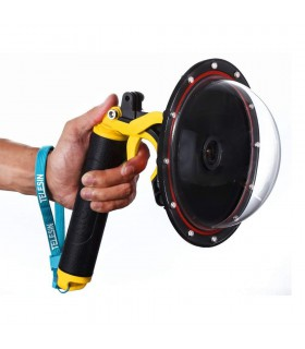Accesorii camere video Dome Subacvatic 20 cm GoPro HERO 3+ / 4 + Maner Floating Telesin Xtrems.ro