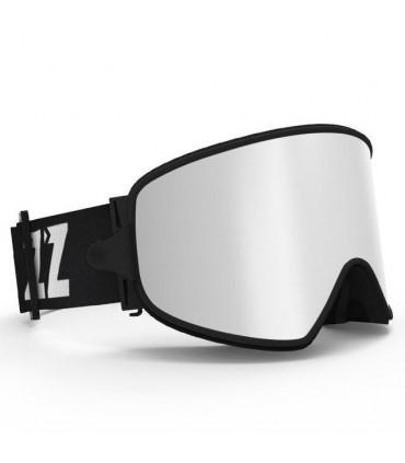 Ochelari COPOZZ pentru Ski & Snowboard cu lentila ARGINTIE magnetica detasabila