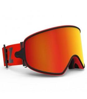 Ochelari COPOZZ pentru ski/snowboard cu lentila ARGINTIE magnetica detasabila