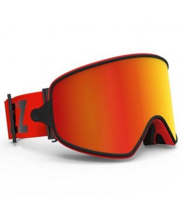 Ochelari COPOZZ pentru Ski & Snowboard cu lentila ROSIE magnetica detasabila