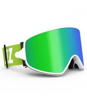 Ochelari COPOZZ pentru Ski & Snowboard cu lentila VERDE magnetica detasabila