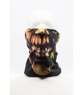 Cagule/Bandane Masca / Bandana Imprimeu 3D Pentru Fata model Negru 1 Xtrems Xtrems.ro