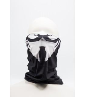 Masca / Bandana Imprimeu 3D Pentru Fata model Negru 5