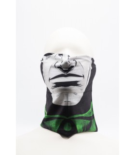 Masca / Bandana Imprimeu 3D Pentru Fata model Negru 8