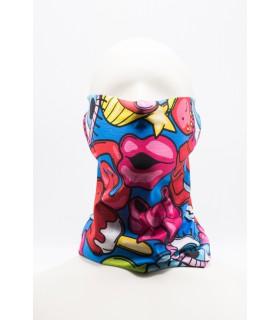 Cagule/Bandane Masca / Bandana Imprimeu 3D Pentru Fata model multicolor Xtrems Xtrems.ro