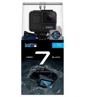 GoPro Pachet Promo 9 - Camera Gopro Hero 7 Black + Accesorii Compatibile - Geanta, Incarcator si baterie, Carcasa, Selfie Sti...