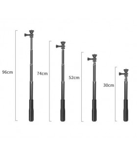 Accesorii camere video Selfie stick Aluminiu 4 tronsoane Xtrems Xtrems.ro