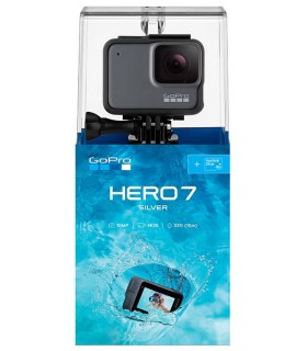 GoPro Pachet Promo 2 - Gopro Hero 7 Silver + Set 35 Accesorii Compatibile GoPro Xtrems.ro
