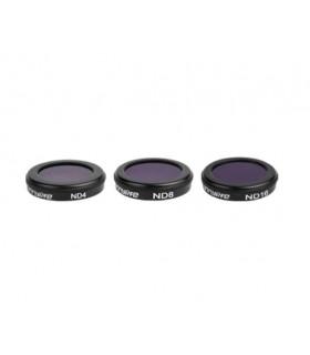 Filtre Set 3 filtre ND4 ND8 ND16 pentru DJI Mavic 2 zoom SUNNYLIFE Xtrems.ro