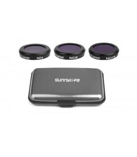 Accesorii Set 3 filtre ND4 ND8 ND16 pentru DJI Mavic 2 zoom SUNNYLIFE Xtrems.ro