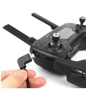 Conectica Cablu de conversie Micro-USB la USB pentru telecomanda drona Spark, Mavic Pro , Mavic Air, Mavic 2, Mavic Mini SUNN...