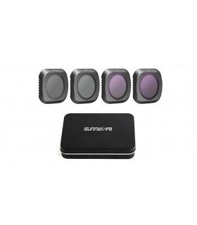 Accesorii Set 4 filtre ND4 ND8 ND16 ND32 pentru DJI Mavic 2 Pro SUNNYLIFE Xtrems.ro