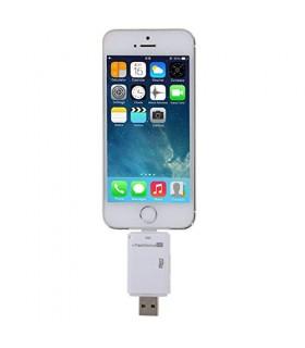 Mobile Cititor De Carduri MicroSD Cu Mufa Lightning pentru Iphone / Ipad PULUZ Xtrems.ro