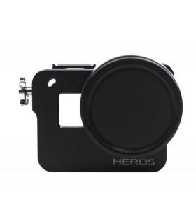 Carcasa din aluminiu CNC Compatibila GoPro Hero 7 , 6 si 5 Black