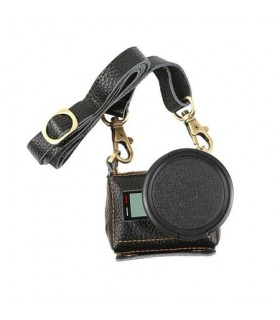 Carcasa din piele cu filtru UV 52 mm Compatibila GoPro Hero 5, 6, 7