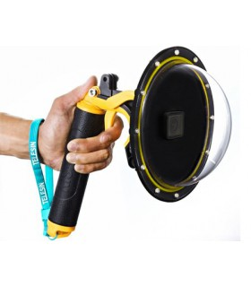 Subacvatice Dome Subacvatic 20 cm Telesin Compatibil GoPro HERO 5/ 6/ 7 Black + Maner Floating Telesin Xtrems.ro