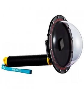Accesorii Dome Subacvatic 20 cm GoPro HERO 5/ 6/ 7 + Maner Floating Telesin Xtrems.ro
