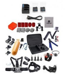 Seturi accesorii Set 37 componente + Geanta XL Selfie Stick Monturi Adezive Tripod Floating Xtrems Xtrems.ro
