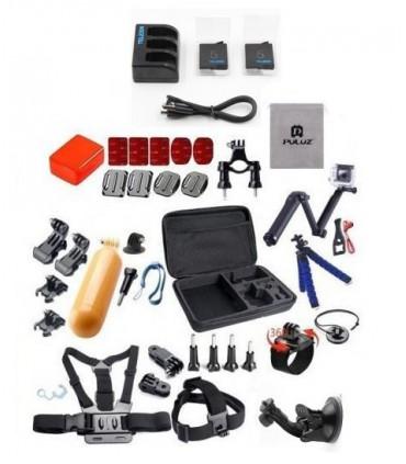 Set 37 componente + Geanta XL Selfie Stick Monturi Adezive Tripod Floating