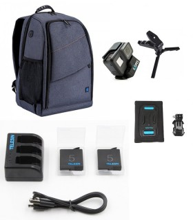 Pachet accesorii outdoor Compatibile Gopro, SjCam, Xiaomi