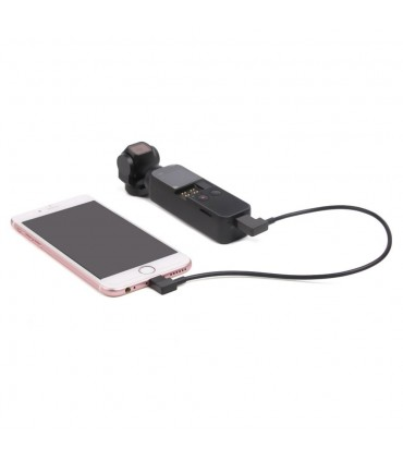 Cablu De Date 30 cm Lightning IOS - Dji Osmo Pocket