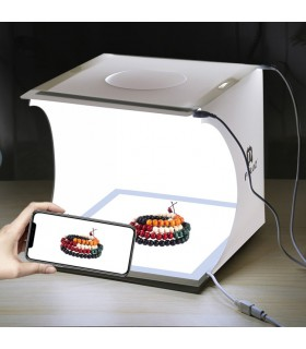 Accesorii Set studio foto mini + Panou LED PULUZ Xtrems.ro