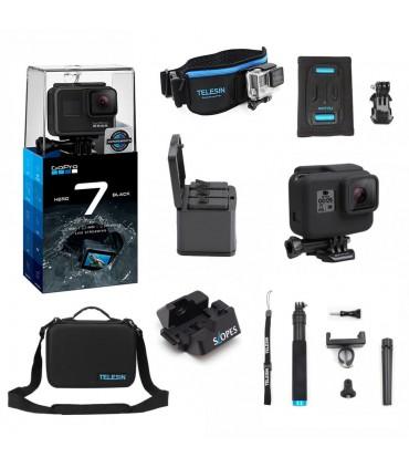 Pachet GoPro Hero 7 Black Si 7 Accesorii Compatibile Gopro 5, 6 si 7 Black