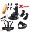 Seturi accesorii Set 11 Accesorii compatibile Gopro , Bobber , Ventuza, Ham S02 Xtrems Xtrems.ro