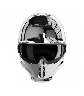 Casti Casca Rurorc RG1-DX SERIES 3 Silver Chrome Ruroc Xtrems.ro