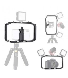 Accesorii Cadru Vlogging Pentru Telefon, Camera Sport Sau DSLR Ulanzi Ulanzi Xtrems.ro