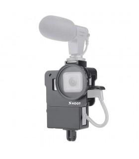 Carcasa Din Aluminiu CNC Pentru Vlogging Compatibila GoPro Hero 5 , 6 si 7 Black