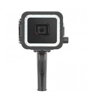 Lanterne Carcasa Subacvatica Cu Lampa LED Si Declansator Compatibila GoPro Hero 5, 6, 7 Black Xtrems Xtrems.ro