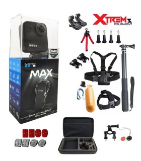 GoPro Gopro Max 360 + Set 26 Accesorii Compatibile GoPro Xtrems.ro
