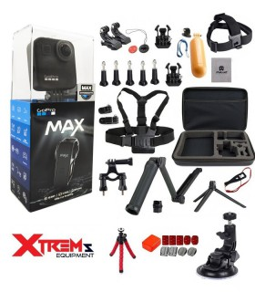 GoPro Gopro Max 360 + Set 35 Accesorii Compatibile + Geanta GoPro Xtrems.ro