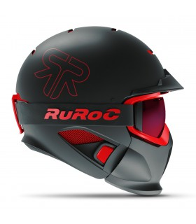 Casti Casca Ruroc RG1-DX BLACK INFERNO Ruroc Xtrems.ro