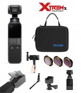 Stabilizatoare DJI Osmo Pocket + Set 8 Accesorii Si Geanta Transport Si Depozitare Dji Xtrems.ro