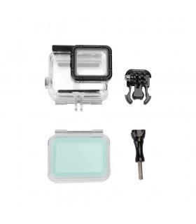 Carcase/Protectii Carcasa Subacvatica Telesin Transparenta Compatibila GoPro Hero 5, 6 Si 7 Black Telesin Xtrems.ro