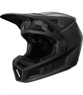 Casca Fox V3 Solids Helmet, ECE [CAR/BLK]