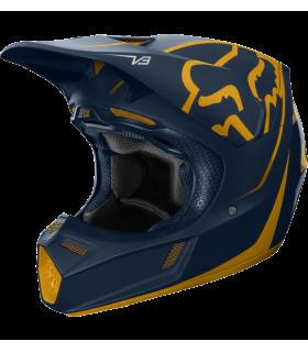 Casca FOX V3 Kila Helmet, ECE [NVY/YLW]