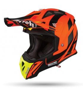 Casti Casca Airoh Aviator 2.3 Bigger Orange Matt Airoh Xtrems.ro