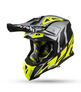 Casti Casca Airoh Aviator 2.3 Great Yellow Matt Airoh Xtrems.ro