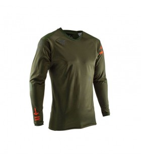 Tricou LEATT DBX 5.0 ALL-MOUNTAIN FOREST
