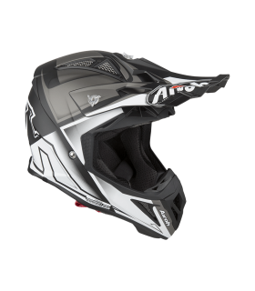 Casti Casca Airoh Aviator 2.2 Check White Matt Airoh Xtrems.ro