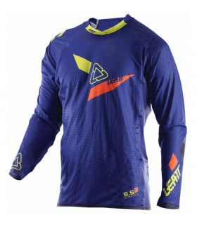 Tricou LEATT GPX 5.5 ULTRAWELD M BLUE/LIME