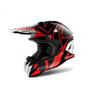 Casti Casca Airoh Terminator Open Vision Shock Red Gloss Airoh Xtrems.ro